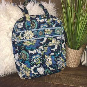 Vera Bradley Purse Mod Floral Blue Retired Pattern